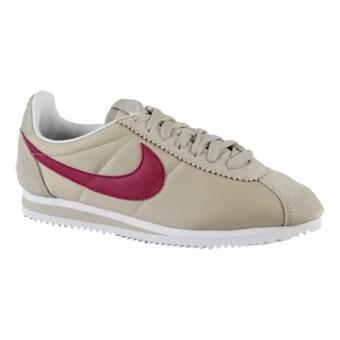 Nike Classic Cortez Nylon  砂色/亮紫红/白
