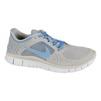 Nike Free Run+ 3 花岗岩灰/粉蓝/纯铂色