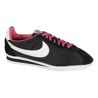 "Nike Classic Cortez Nylon ""阿甘鞋"" 黑/白/深粉/煤黑(女子)"