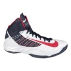 Nike Lunar Hyperdunk 2012+(美国国家队配色)白/深蓝/红