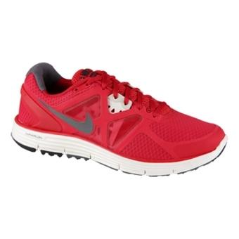 Nike Lunarglide+ 3 宇宙红/深灰/帆白/电黄