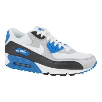 Nike Air Max 90 煤黑/白/蓝黑/上升红