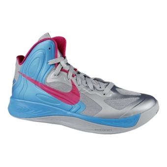 Nike Hyperfuse XDR 狼灰/红树莓色/活力蓝