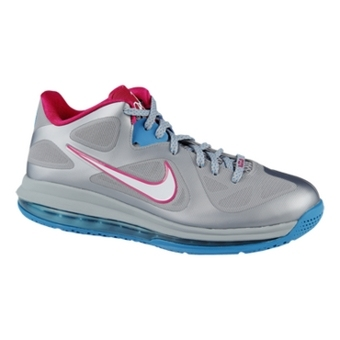 "LeBron 9 Low WBF ""Fireberry"" 狼灰/白/活力蓝"