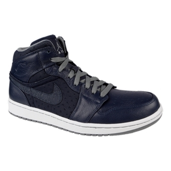 Air Jordan 1 Phat 蓝黑/冷灰/白