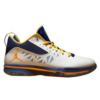 Jordan CP3.V 龙年限量版 白/蓝/黄