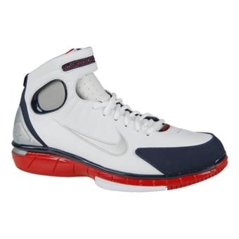 Nike Air Zoom Huarache 2K4 白/金属银/蓝黑/运动红