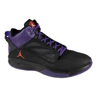 Jordan F2F II 黑/对橙/俱乐部紫/白