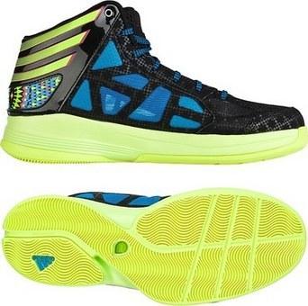 adidas Crazy Shadow 2 一号黑/亮黄荧光/亮丽蓝
