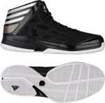 adidas Crazy Shadow 2 一号黑/亮白/黑