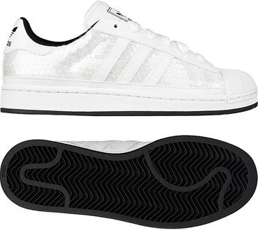 adidas Originals Superstar 2 W 白/白/一号黑 (女子)