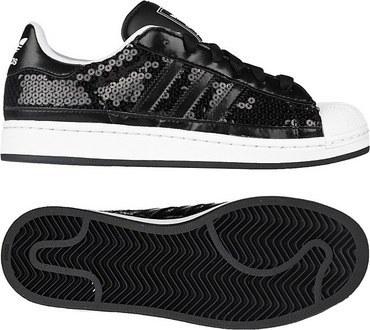 adidas Originals Superstar 2 一号黑/一号黑/白(女子)