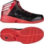 adidas Crazy Shadow 2 一号黑/亮白/浅猩红