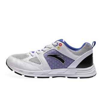 安踏A-CORE缓震跑鞋 白/紫