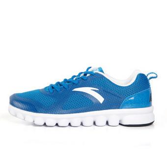 安踏柔软柱缓震跑鞋 蓝色