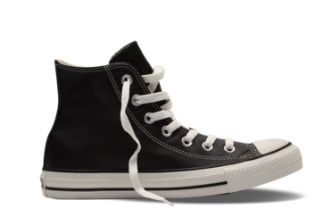 Converse Chuck Taylor All Star Leather 黑/白