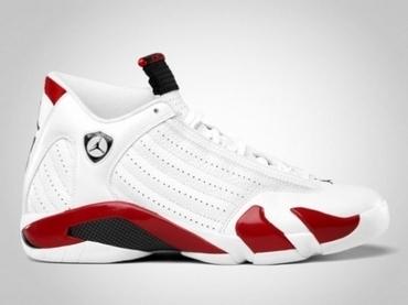 Air Jordan XIV 白/红