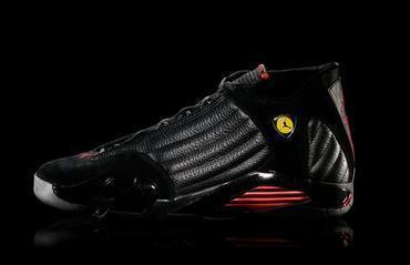 """Air Jordan XIV """"Last Shot"""" 黑/红"""
