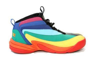 李宁彩虹篮球鞋