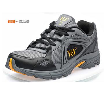 361度网面透气跑鞋