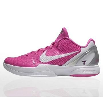 Zoom Kobe VI 乳腺癌粉红