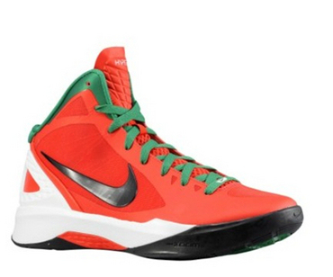 Nike Zoom Hyperdunk 2011圣诞配色