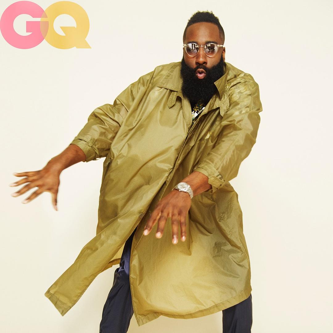 手机彩票网投大全:时尚!哈登发布自己为《GQ》杂志拍摄的写真