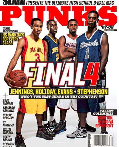 澳门金沙娱乐网址导航:詹宁斯晒登上杂志封面旧照:很棒的篮球时刻