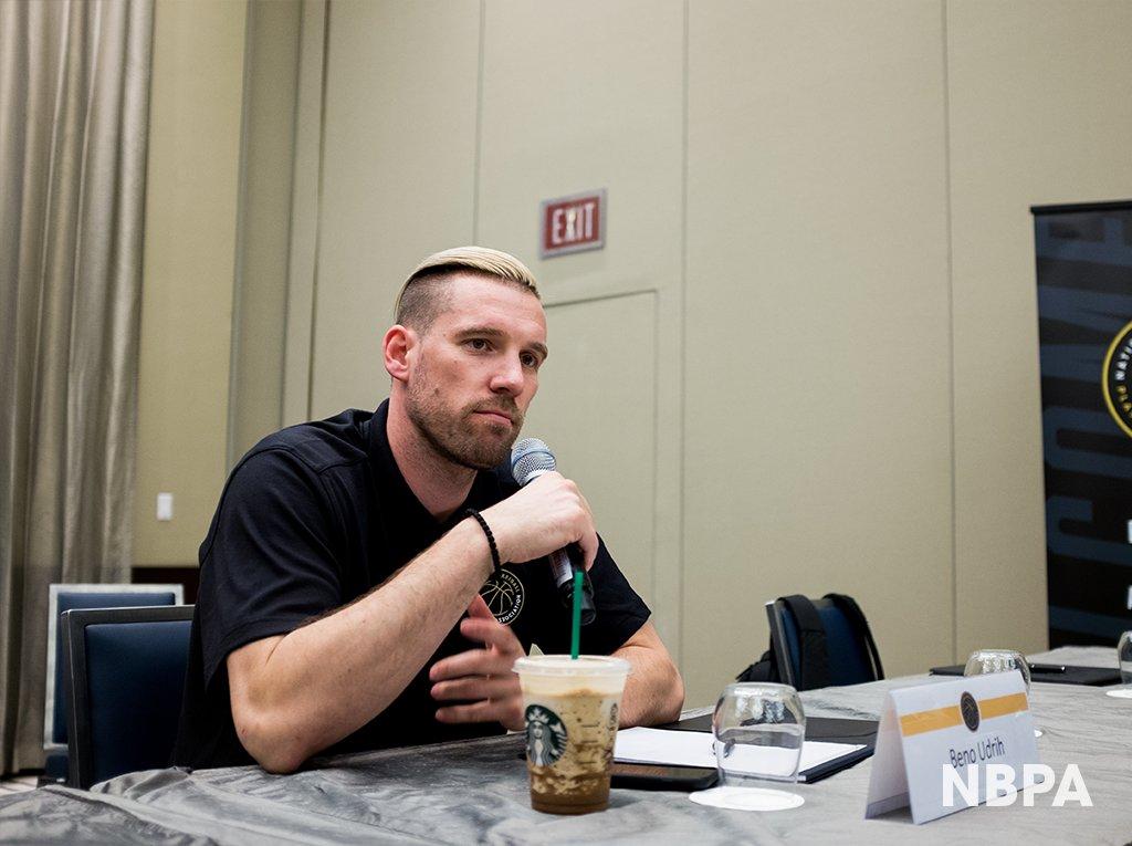 NBA球员工会官方宣布球员带领力成长打算勾当的照片