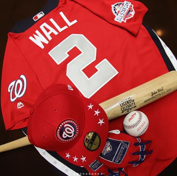 本身加入MLB全明星名人赛的图集很酷的履历沃尔宣布
