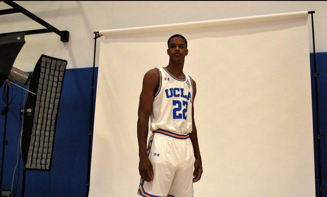 生气蓬勃!谢里夫-奥尼尔展现UCLA定妆照