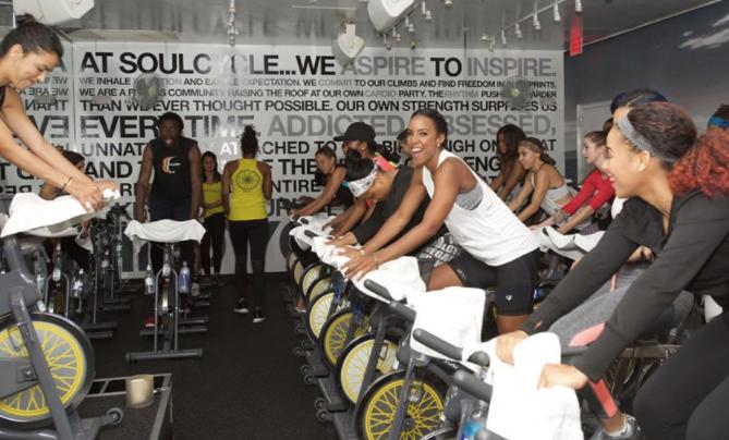 沃在线购置彩票尔:SoulCycle的单车练习很有应战性