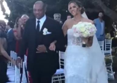 塞思-库里与里弗斯女儿完婚,库里、小里弗斯现场斗舞