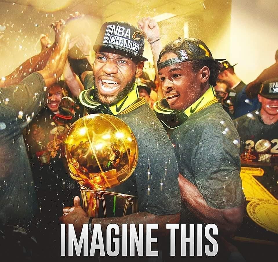 美媒展示詹皇父子同框圖片:NBA即將變成瘋狂的地方-Haters-黑特籃球NBA新聞影音圖片分享社區
