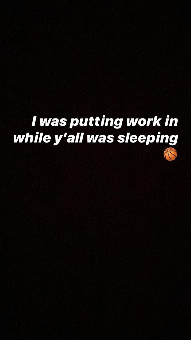 史蒂芬森:当你在睡觉的时候,我在训练