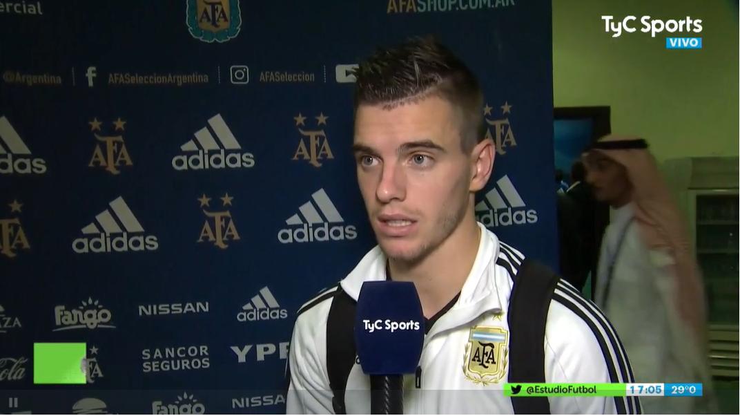 塔利亚菲科:今天阿根廷没有让巴西创造太好的机会