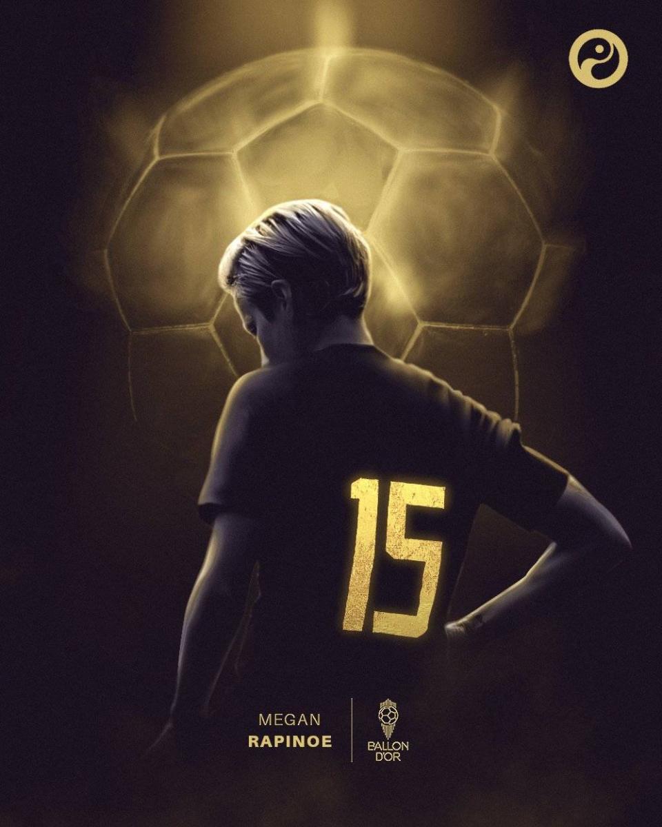 官方:美国女足队长拉皮诺埃获得2019年女子金球奖