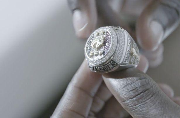 门迪:世界杯夺冠后,博格巴送我们每人一个镶钻冠军戒指