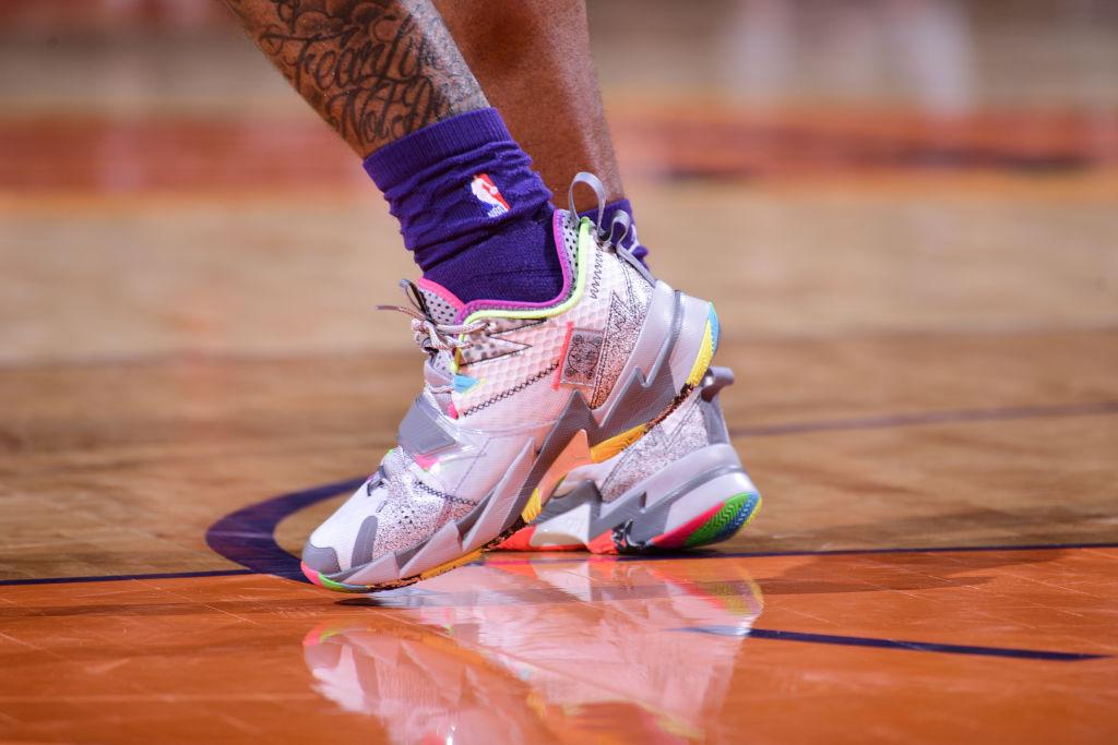今日球鞋:格兰特上脚Kobe 9 Perspective