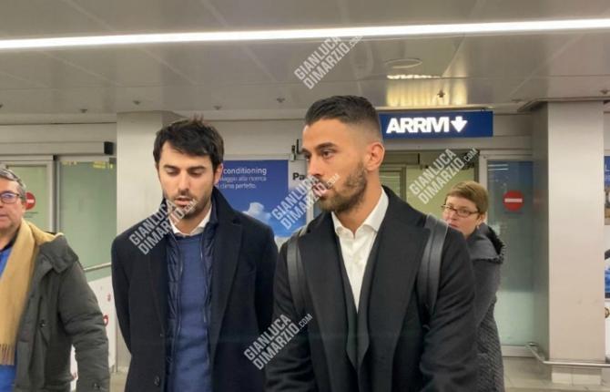 迪马济奥:斯皮纳佐拉抵达米兰城,今日体检并与国米签约