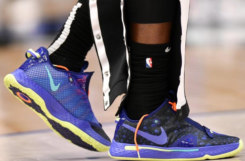 今日球鞋:伦纳德上脚OMN1S,路威上脚匹克 闪现态极