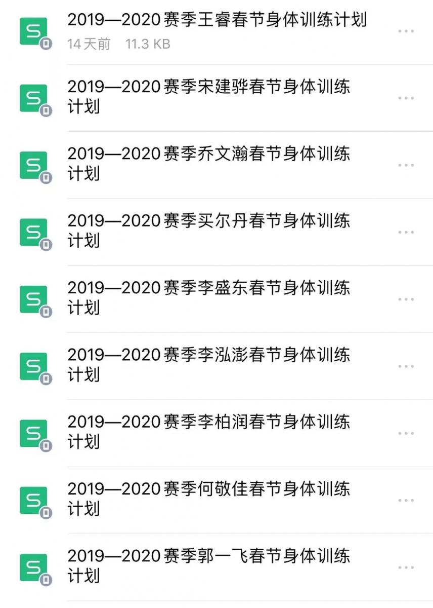 """同曦男篮暂缓集结,球队队员开启""""居家""""训练模式"""