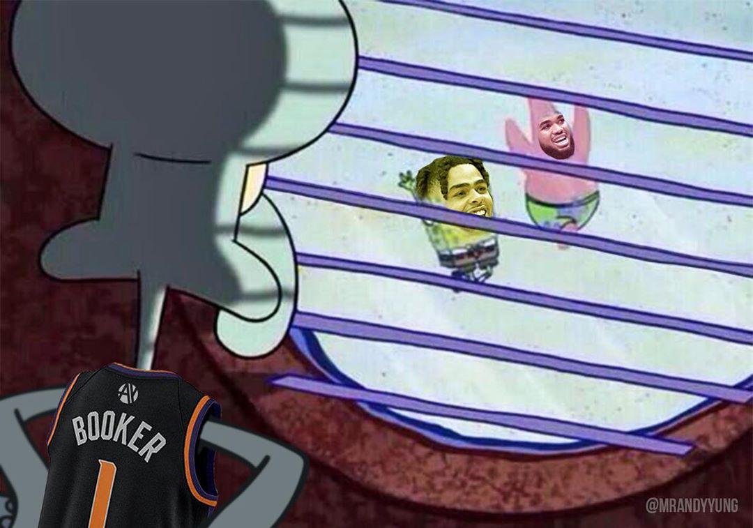 NBA一周国外梗图:交易截止日大吐槽,莫兰特是狠人
