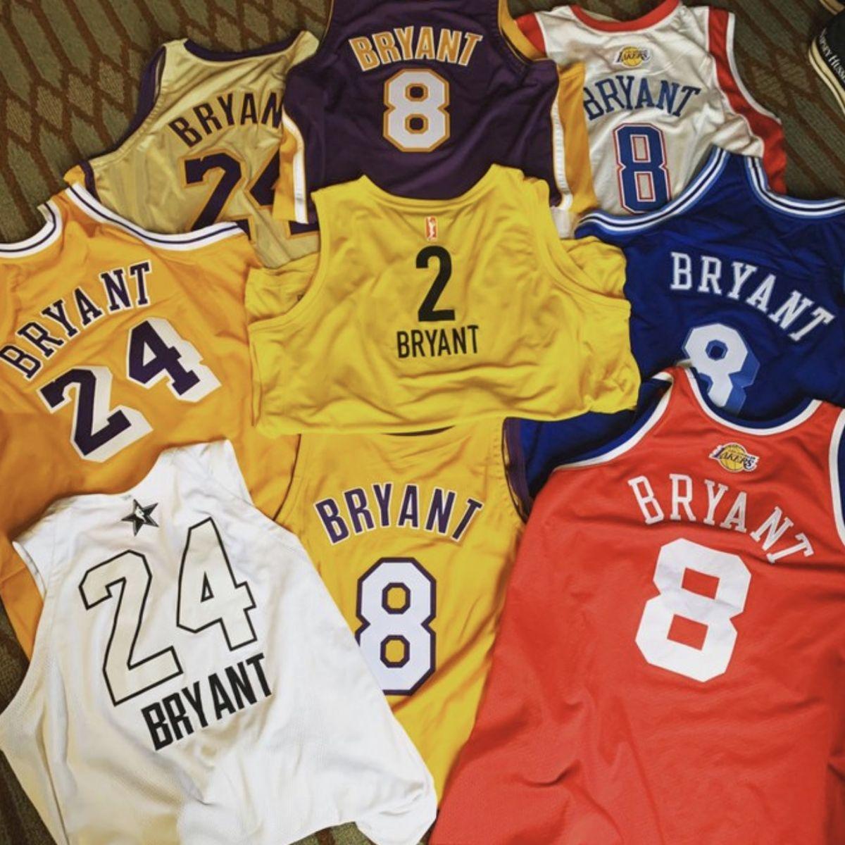 美国演员制作了WNBA火花队2号球衣,为Gigi生前梦想圆梦