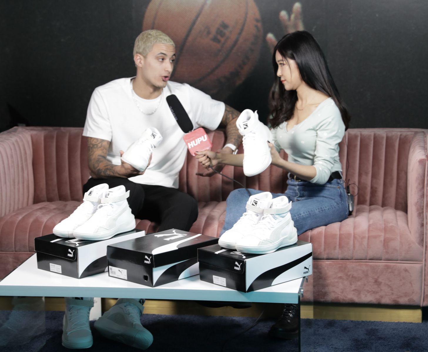 虎扑专访库兹马:对球队未来充满信心,出签名鞋提上日程