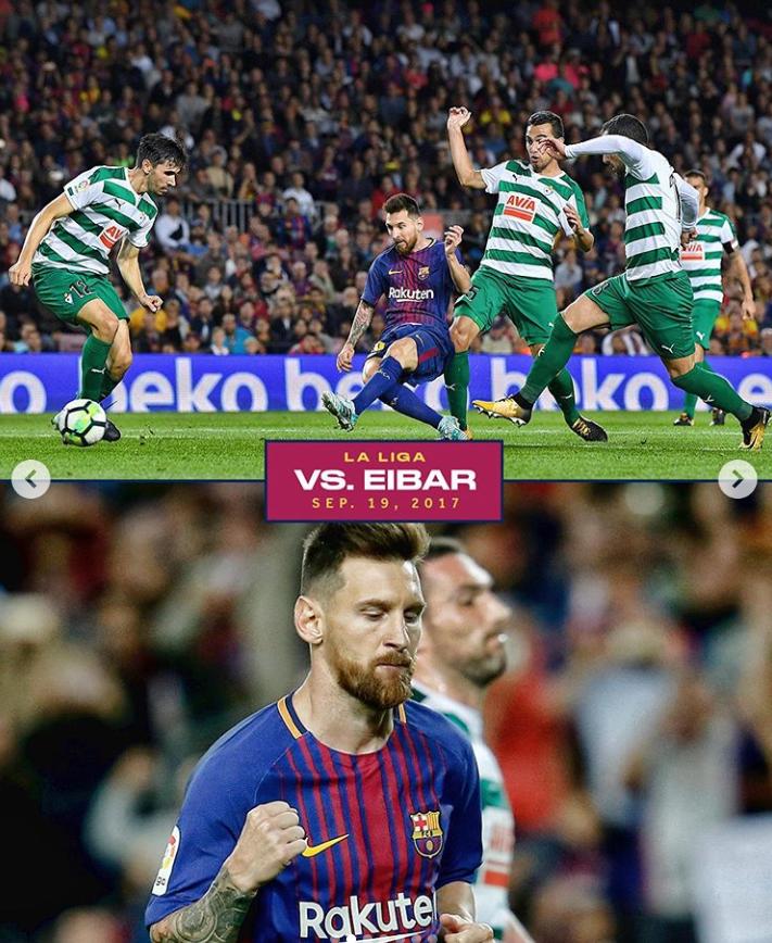 杀手!B/R盘点梅西职业生涯7次单场进球数达4+的瞬间