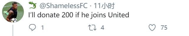 拉什福德推特上与桑乔互动,曼联球迷嗨翻天