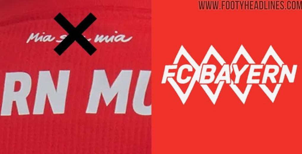 拜仁下赛季客场球衣谍照细节曝光,一处设计出现重大变化