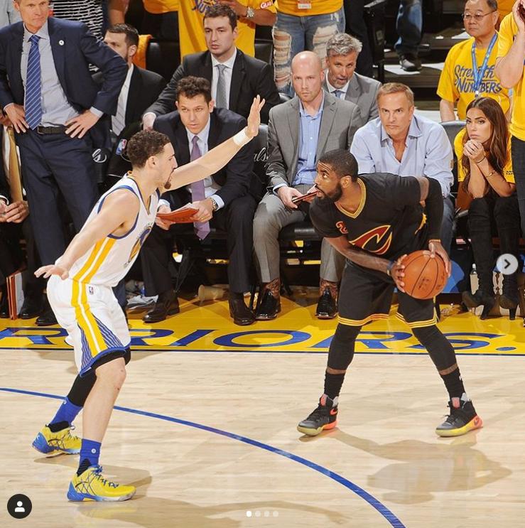 NBA官方回顾2016年总决赛G5:詹姆斯、欧文合砍82分