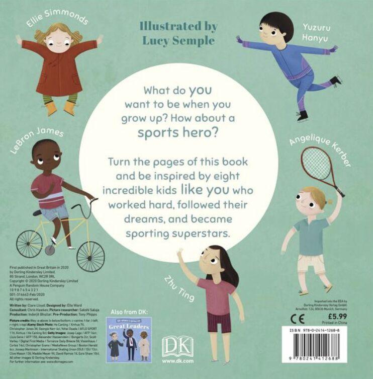 儿童榜样!朱婷、梅西、詹姆斯等被写进英国知名儿童读物